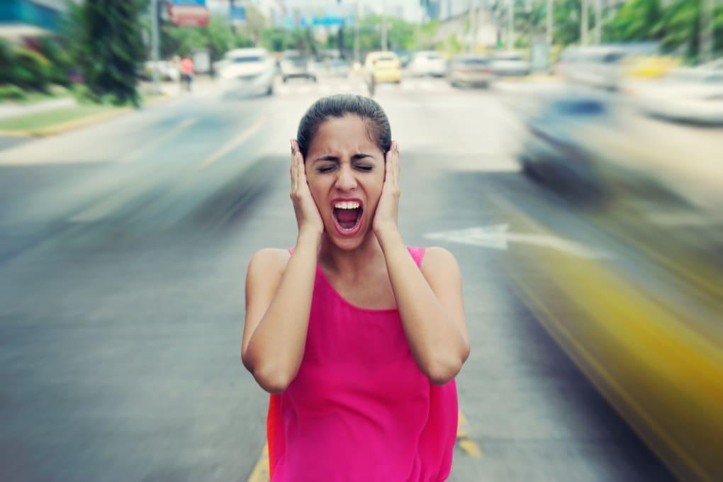 Il rumore del traffico può ostacolare il concepimento