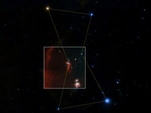 Zwicky Transient Facility (ZTF), Palomar Observatory, first light, telescopi, nebulosa di Orione
