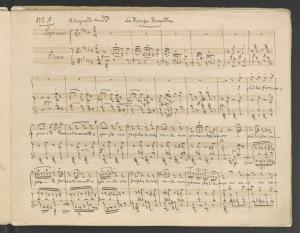 Gioachino Rossini, spartiti, La Fioraja Fiorentina
