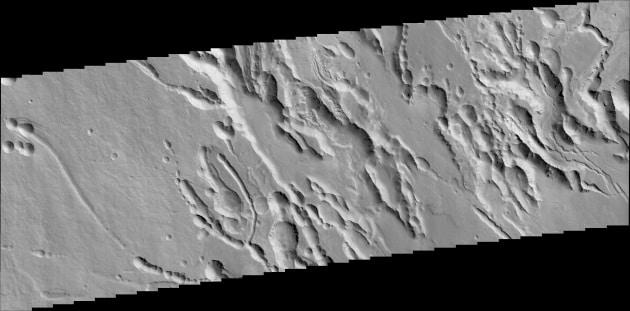 Le prime immagini da Marte di ExoMars
