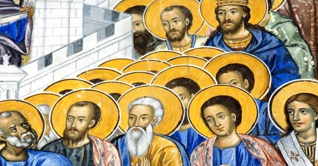 Perché i santi hanno l'aureola sul capo?