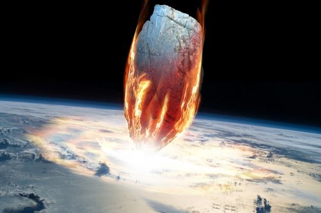 Un grande impatto di asteroide (ma senza cratere)
