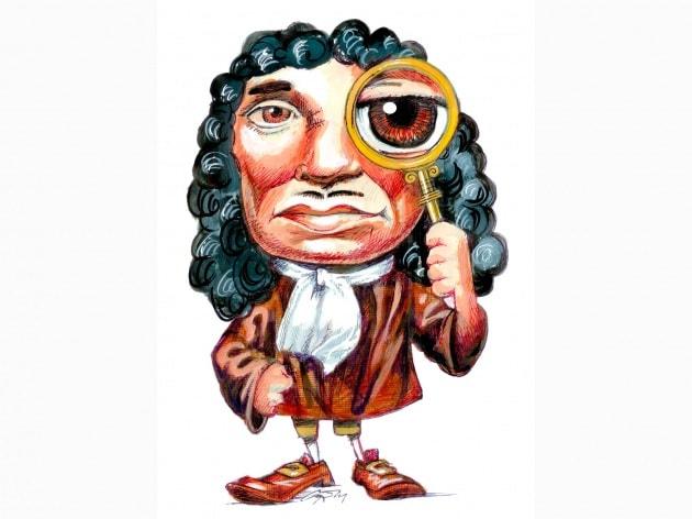 Antoni van Leeuwenhoek, il microscopio, i batteri e gli spermatozoi