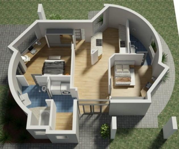 La casa stampata in 3D in 24 ore