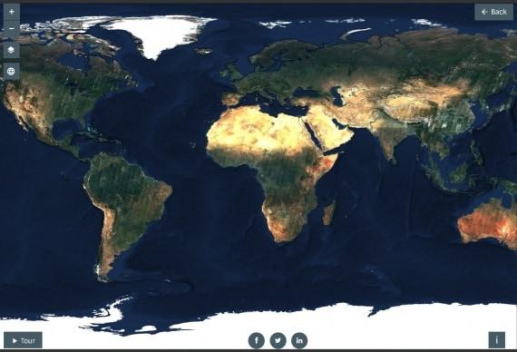 cartografia, Sentinel-2A, Sentinel-2B, la terra senza nuvole
