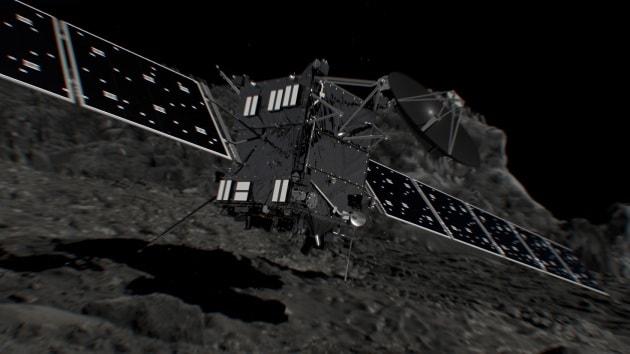 Rosetta e la cometa: finale di missione