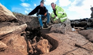 archeologia, sepolture, focene