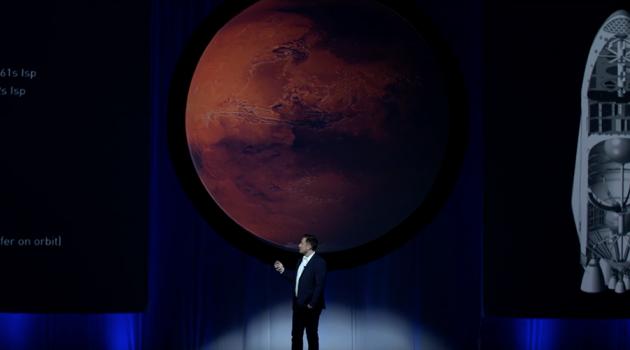 Il discorso di Elon Musk sulla colonizzazione di Marte