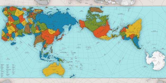 AuthaGraph, la carta geografica