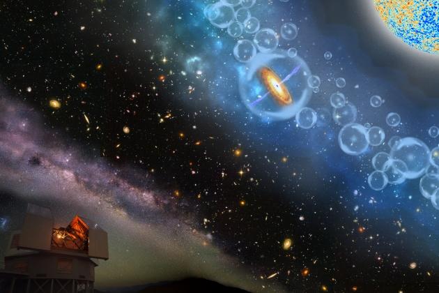 Scoperto il buco nero più lontano dell'universo