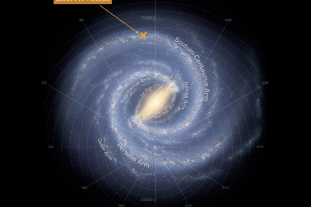 Abbiamo misurato la nostra galassia