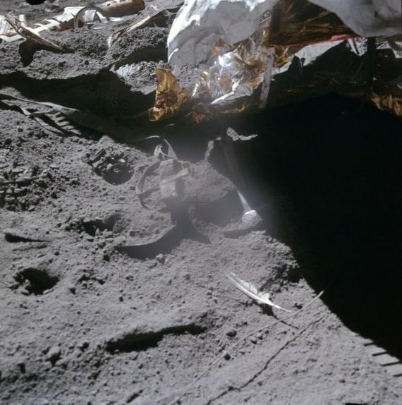 Luna, detriti spaziali, rover, sonde, esplorazione della Luna, uomo sulla Luna, archeologia spaziale