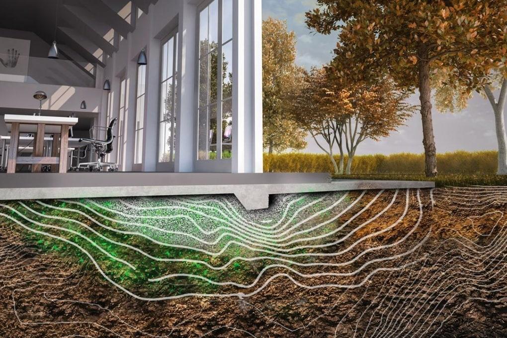 Il suolo batterico intelligente, che non collassa