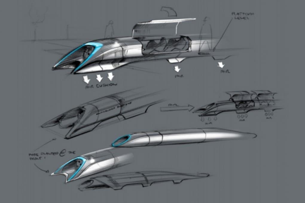 Su Hyperloop, a oltre 300 km/h