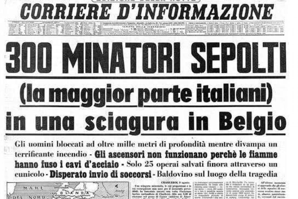 Il sacrificio di Marcinelle: Da sempre, il valore del lavoro è stato esaltato da tutti gli italiani che sono emigra
