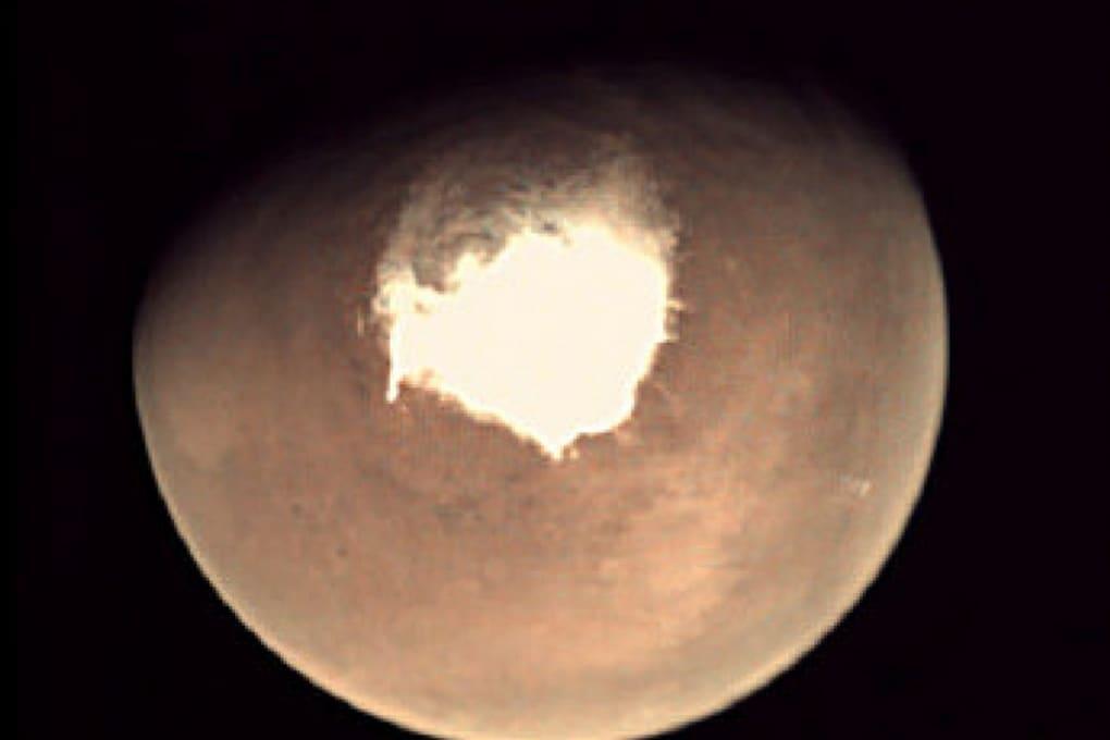 Nevicate notturne su Marte