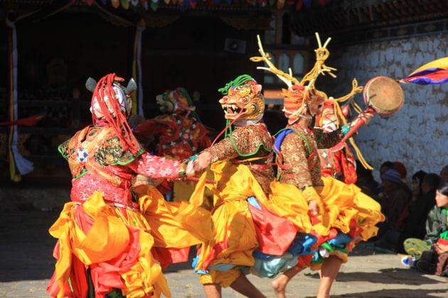 Con Focus Storia nel Bhutan