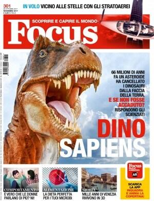 Focus 301, realtà aumentata, il regno dei dinosauri