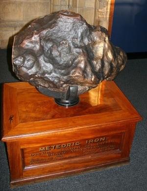 Grosso meteorite di ferro (635 kg) ritrovato in Argentina a fine 1700