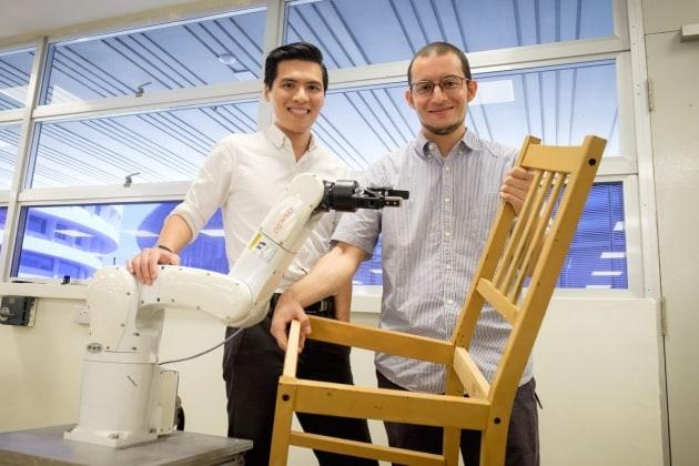 Questo robot monta le sedie dell'Ikea meglio di te