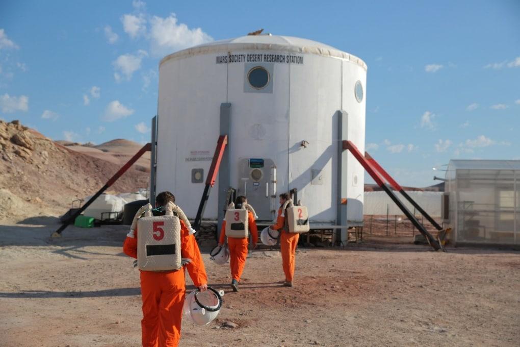 Gli ingegneri di IKEA per tre giorni su Marte