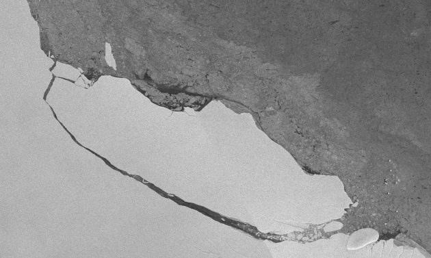 Che ne è del super iceberg di Larsen C