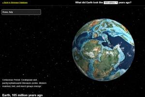 Geografia e mappe della Terra da 750 milioni di anni fa a oggi