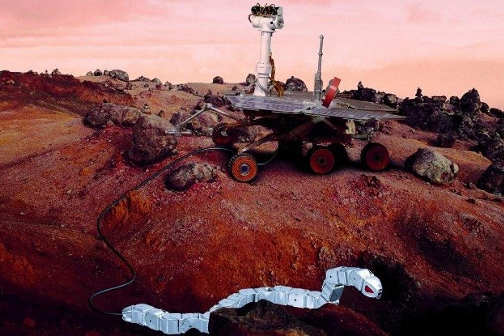 Serpenti robot per esplorare Marte