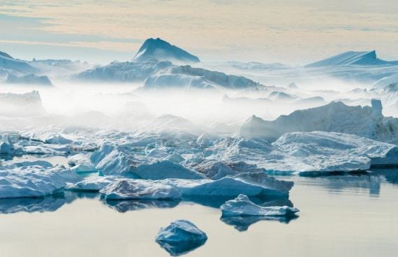 artico, inverno artico, temperature, vortice polare, cambiamenti climatici