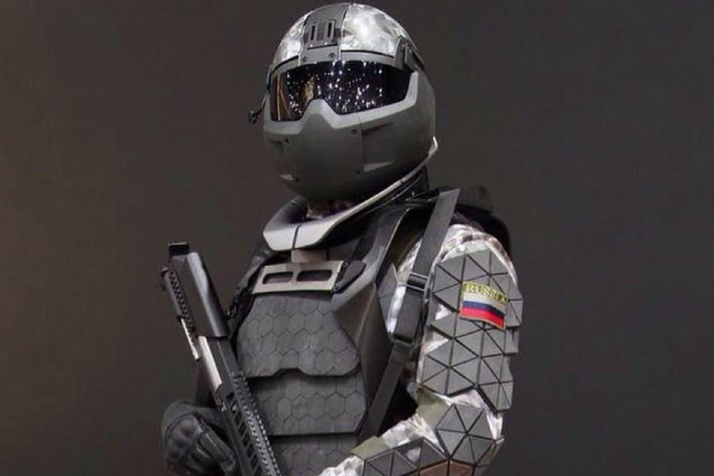 La nuova fantascientifica armatura russa