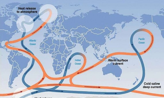 Una fondamentale corrente oceanica dell'Atlantico si sta indebolendo - Focus.it