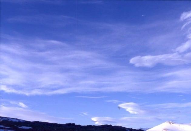Come si formano le nuvole