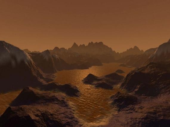 Sistema Solare, sonda Cassini, Cassini-Huygens, Titano, Saturno, clima degli altri pianeti, metano