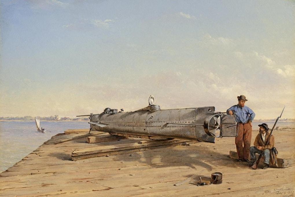 L'ultima missione del sottomarino H.L. Hunley