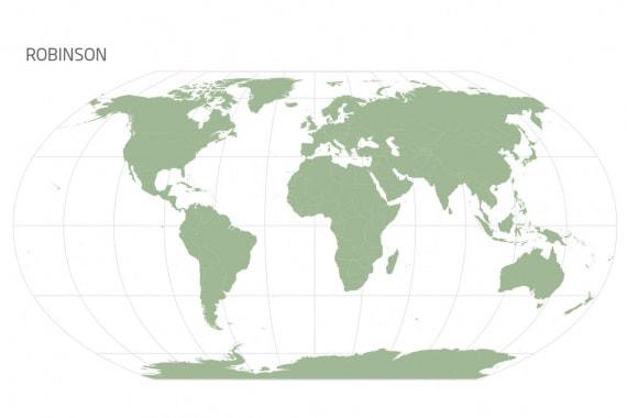 La mappa Robinson