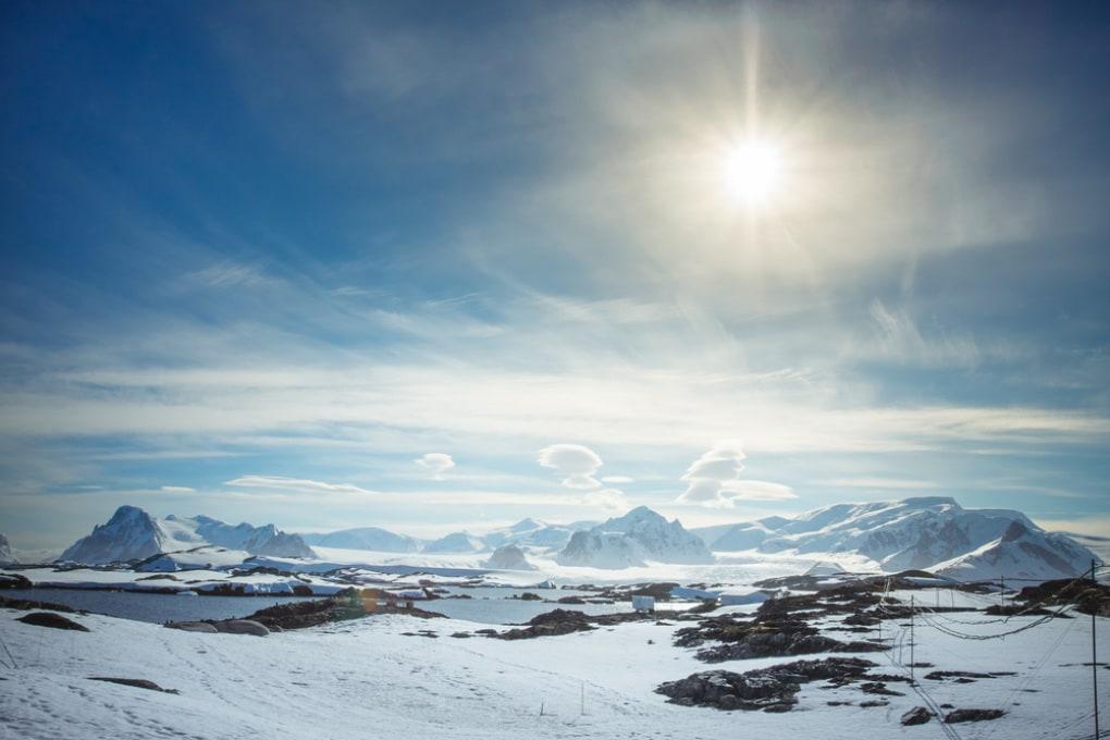 -98 °C: la temperatura più bassa mai registrata