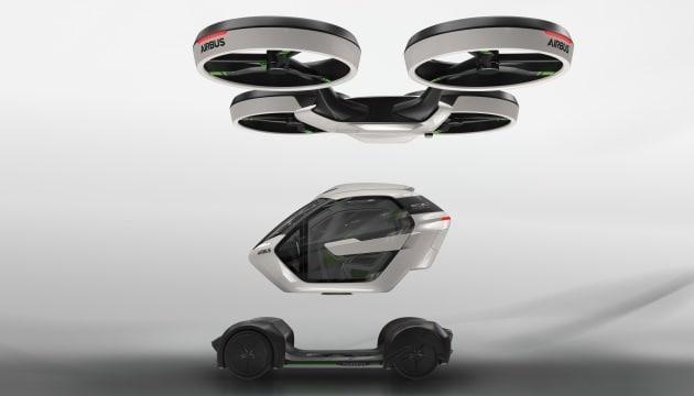 Airbus Pop.Up: l'utilitaria drone che si guida da sola