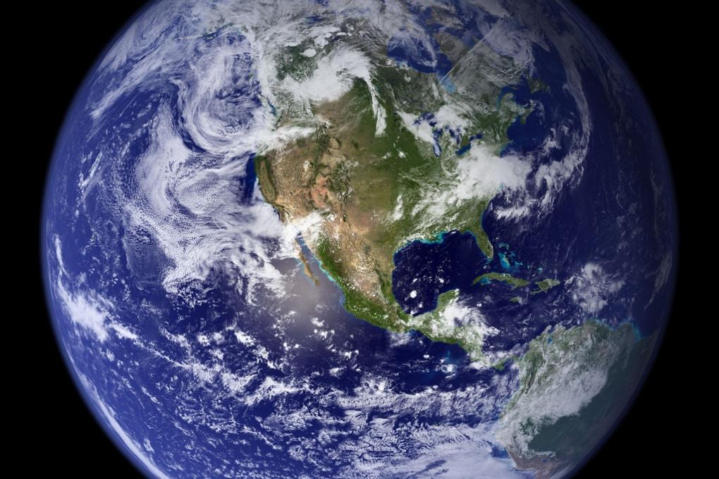 Il peso dell'umanità sul pianeta Terra