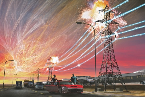 Sole, eruzioni solari, flare, brillamenti, campo magnetico solare