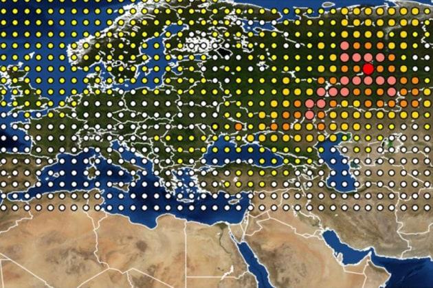 Da dove è arrivata la nube radioattiva del 2017
