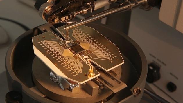 Un progetto operativo per un computer quantistico