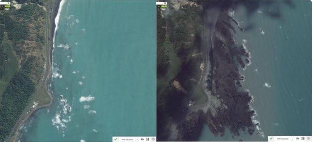 Nuova Zelanda: il sisma ha sollevato il fondale marino