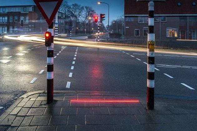 Il semaforo rasoterra