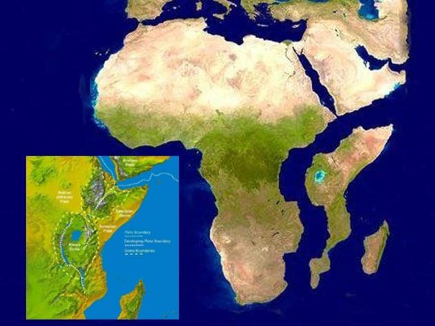 In Kenya: erosione, e non frattura continentale