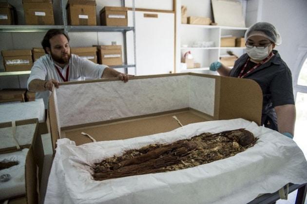 Sotto analisi le mummie di 7000 anni fa