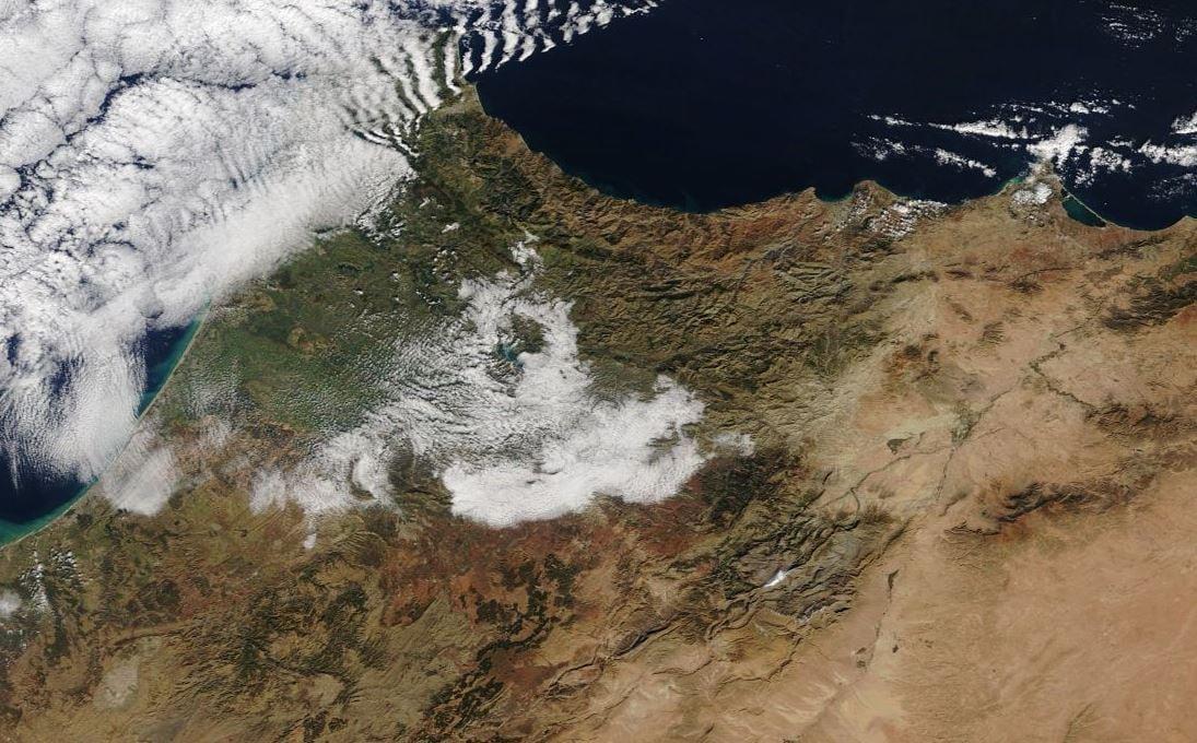 Sahara imbiancato: la neve arriva nel deserto