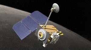 Illustrazione della sonda Lunar Reconnaissance Orbiter.