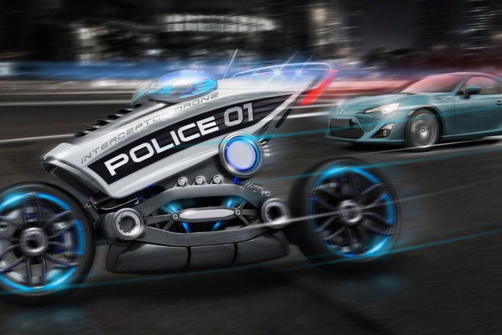 La volante senza poliziotti per le multe del futuro