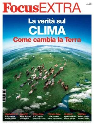 Focus Extra 74, clima, cambiamenti climatici, riscaldamento globale
