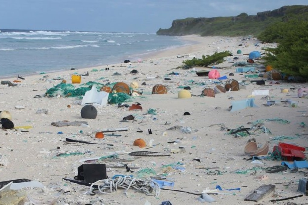 L'isola sperduta che ha la più alta densità di inquinamento da plastica